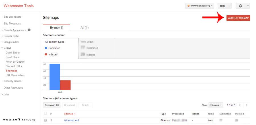 آموزش قدم به قدم ابزار وب مستر گوگل